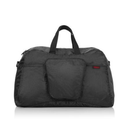 折叠运动旅行黑色耐磨便利行李包袋